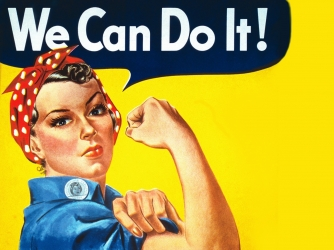 Rosie the Riveter wallpaper