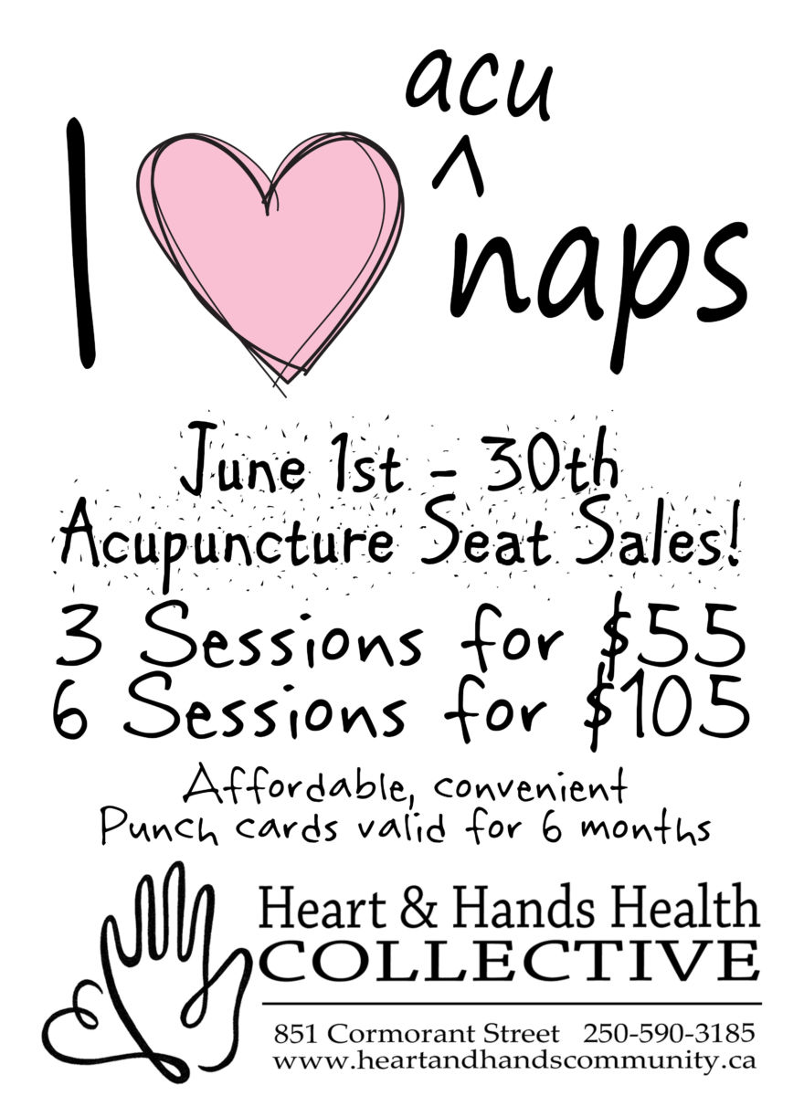 June is *SUMMER* Acupuncture Seat Sales