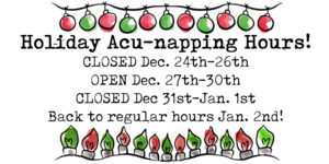 Upcoming Holiday Hours & 'Punk Schedule Changes