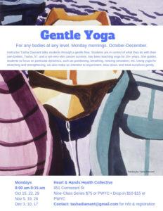 October – December Gentle Yoga Series