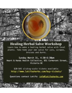 Healing Salve Workshop