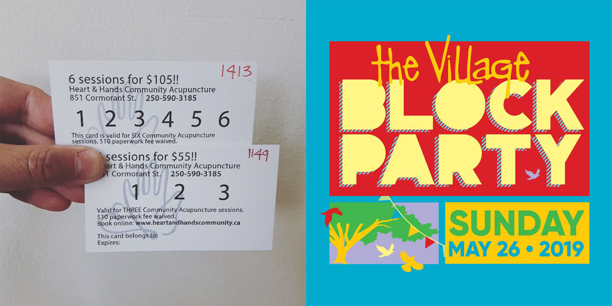Earlybird Acupuncture Seat Sales May 26 – 31, starting @ The Village Block Party!