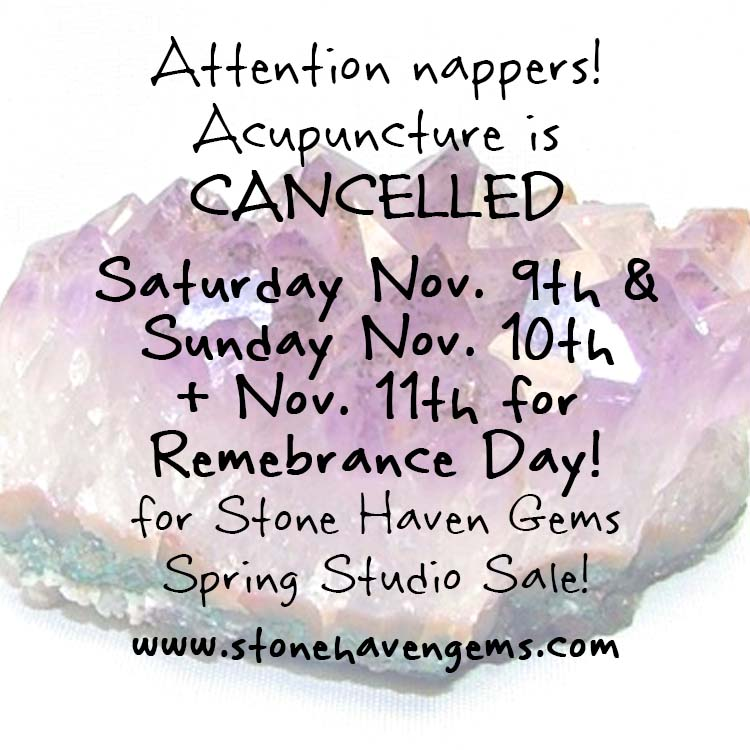 Amethyst Stone Haven Gems Studio Sale Stat holiday hours