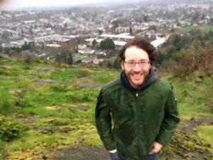 Adrian on Mt Tolmie