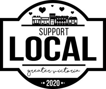 Support Local YYJ Logo B&W
